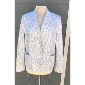 Faconnable printed blazer